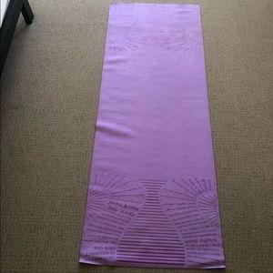 Lululemon yoga mat